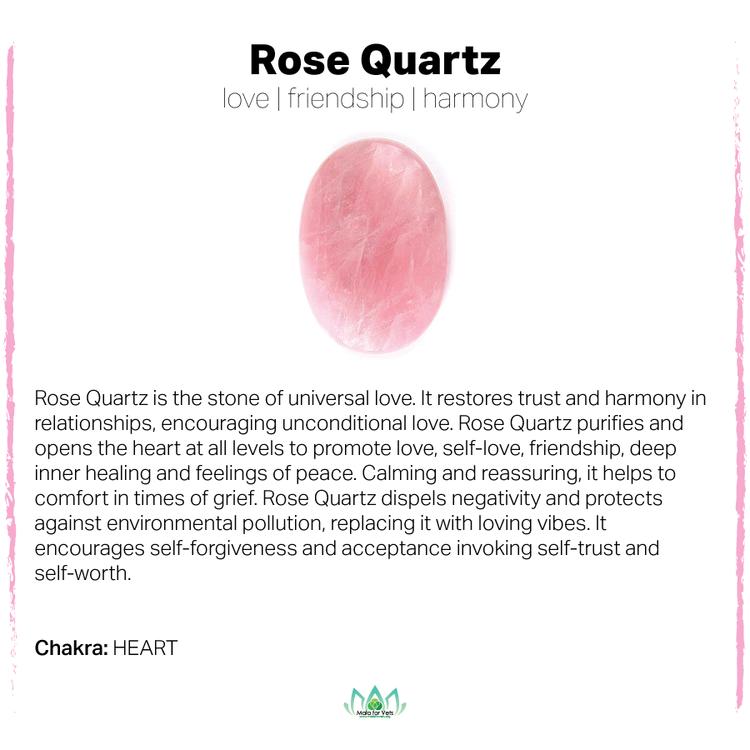 Rose Quartz Card-01.png (With images)   Rose quartz healing, Gemstone meanings, Rose quartz benefits