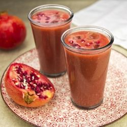 Moroccan pomegranate #smoothie #cocktail