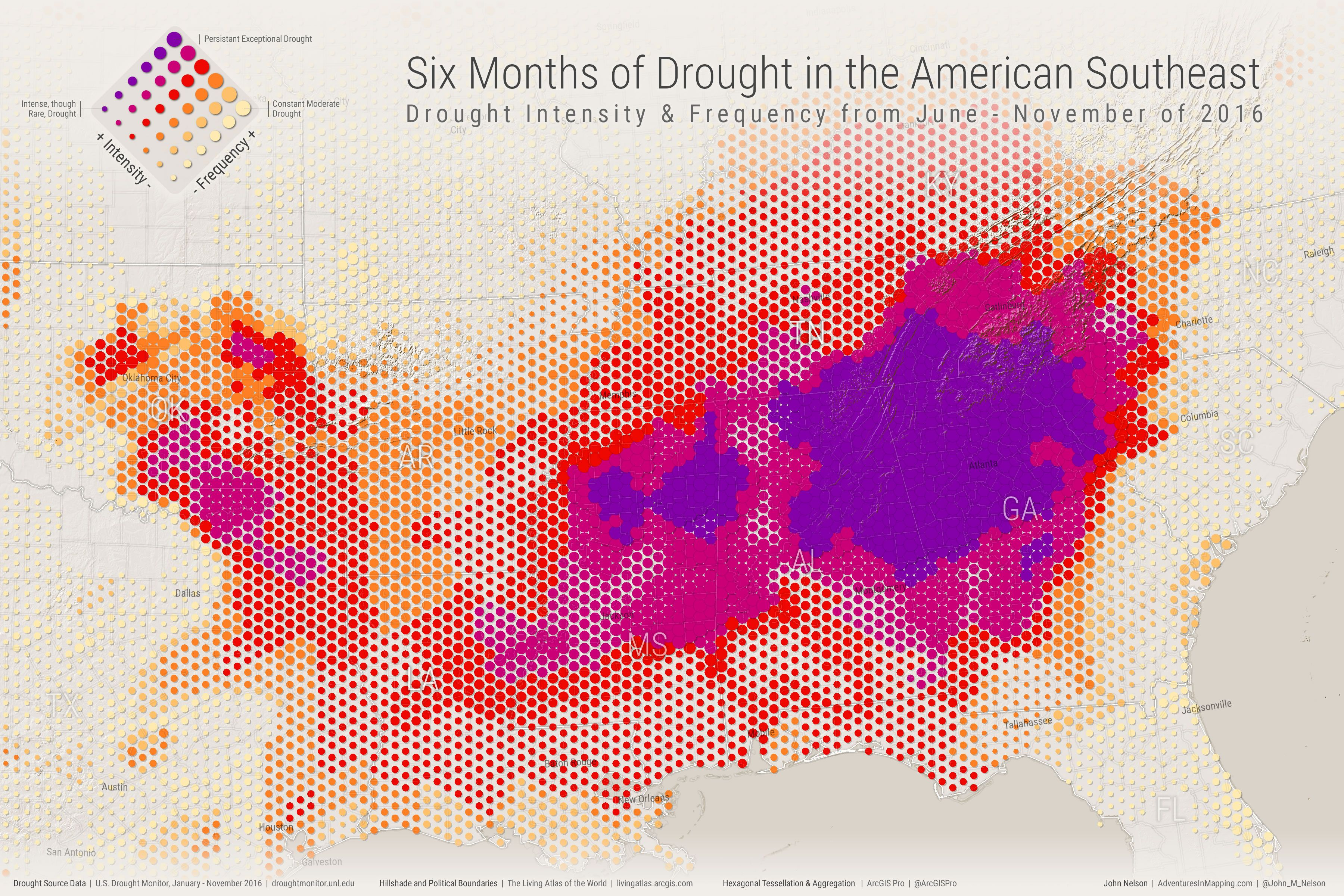 Six Months of Drought in the American