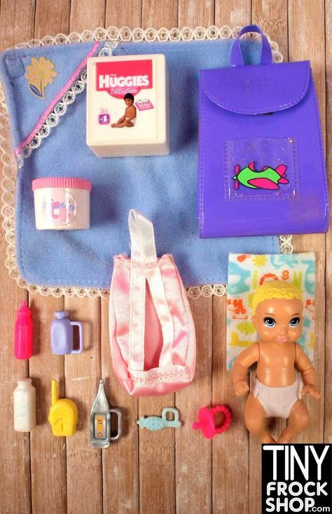 Barbie Baby Diapering and Care Set