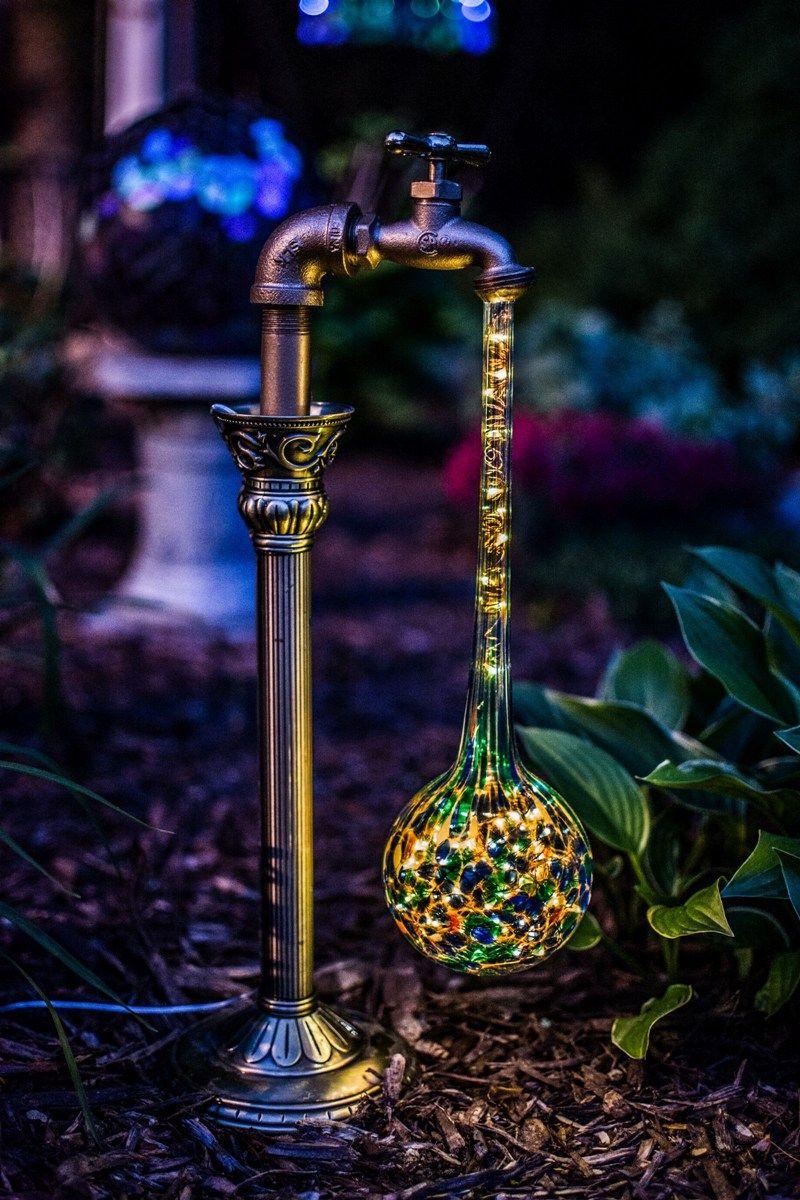 DIY Waterdrop Solar Garden Lights Solar lights