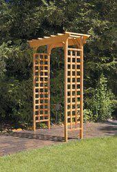 Fairchild Garden Wood Arbour