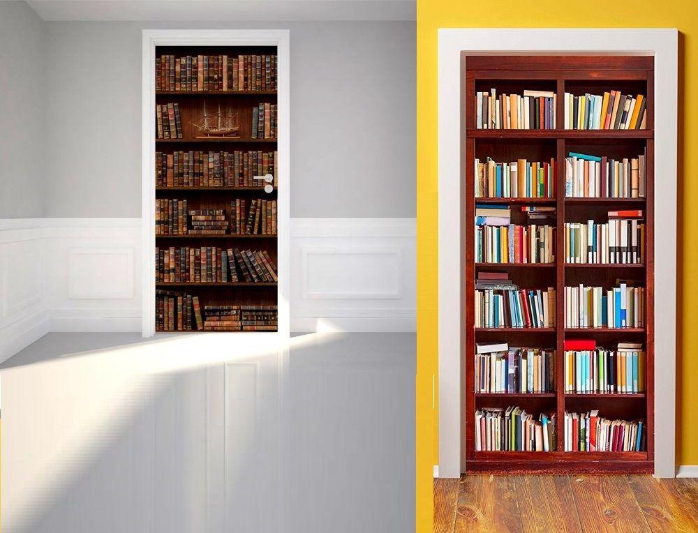 Unique book door design idea id624 home decor gifts for book lovers accessories design