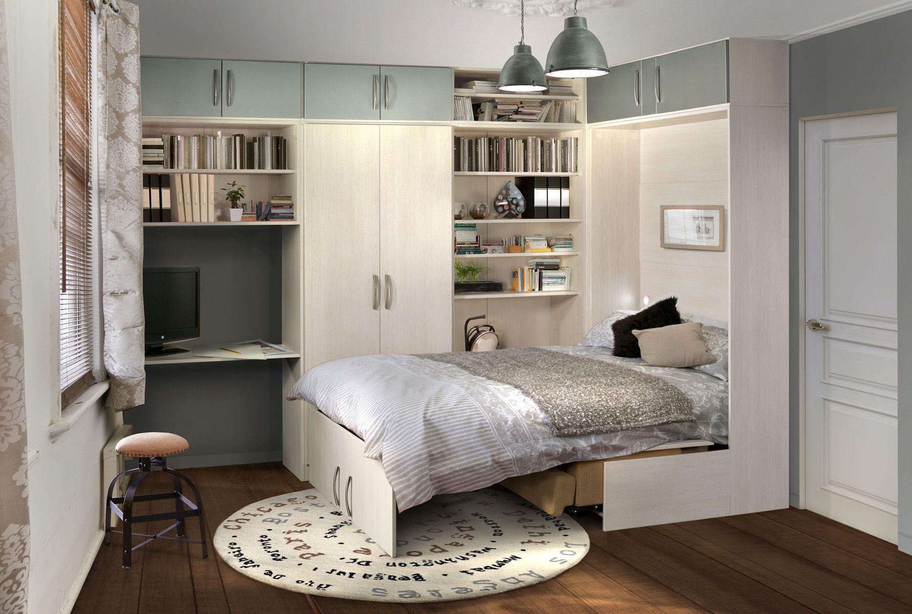Gain De Place Meuble arlitec - lits escamotables - mobilier gain de place | lit