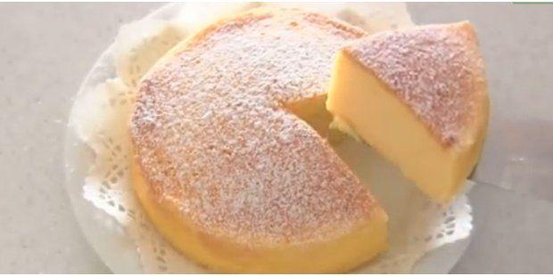 Unglaubliche Cheesecake Mit Nur 3 Zutaten Cheesecake Pinterest