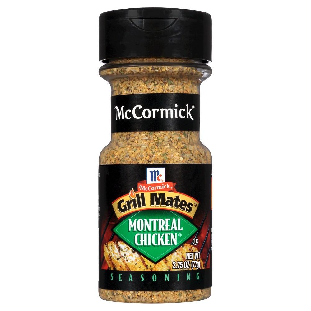 Mccormick grill mates montreal chicken seasoning 275 oz