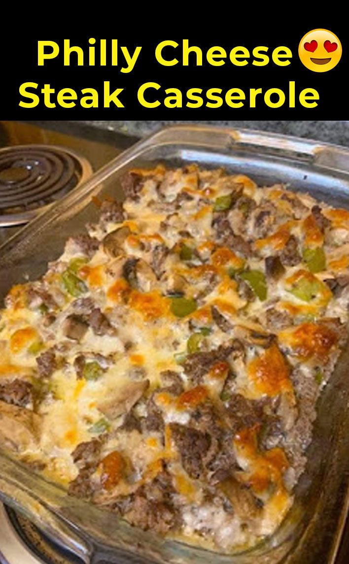 Photo of Philly Cheese Steak Casserole