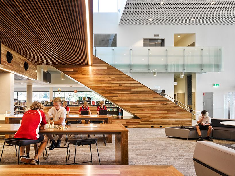 Wilson Architects Learning Hub St Andrews Anglican College Australia Designboom