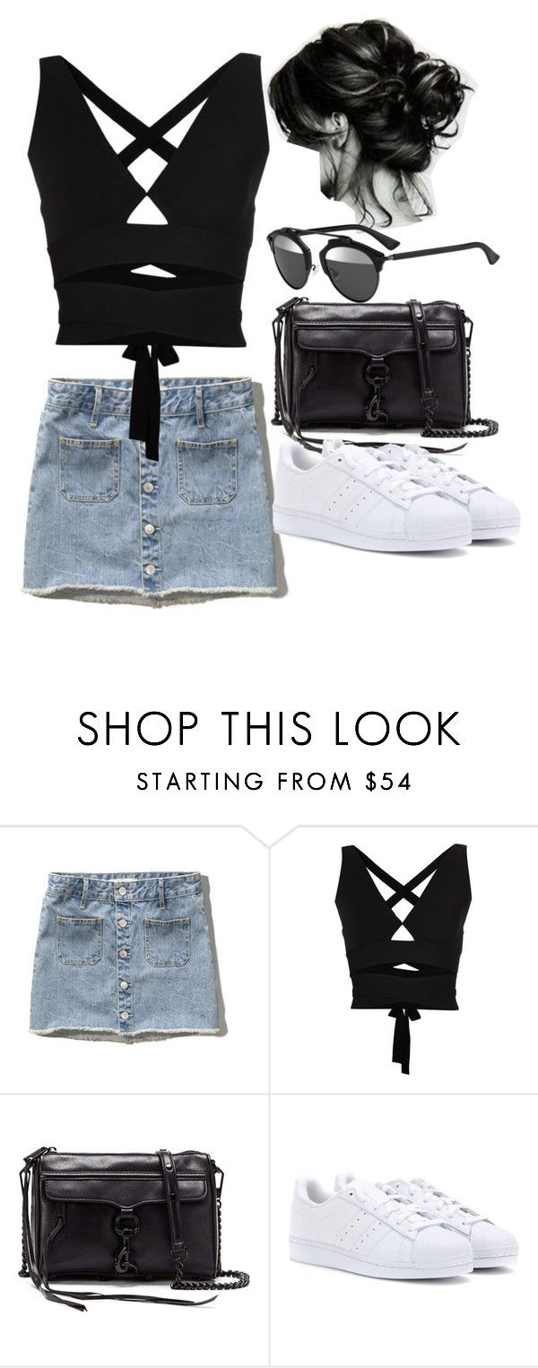 """""""Untitled #3805"""" by lilaclynn ❤ liked on Polyvore featuring Abercrombie & Fitch, Proenza Schouler, Rebecca Minkoff, adidas Originals and Christian Dior"""