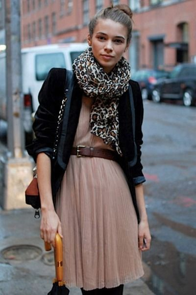 Pleats and prints (and blazer)!