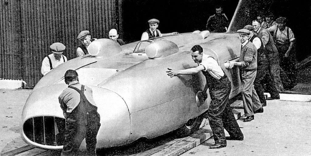 Captain Eyston's Thunderbolt Land Speed Record Car, 1938