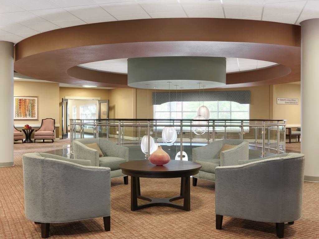 Epworth Villa Senior Living Furniture Dealership Spellman Brady Company Interior Design