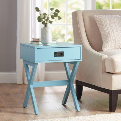 92eaa1ddaa4 Better Homes and Gardens X-Leg Accent End Table - 13K219R2KDBL