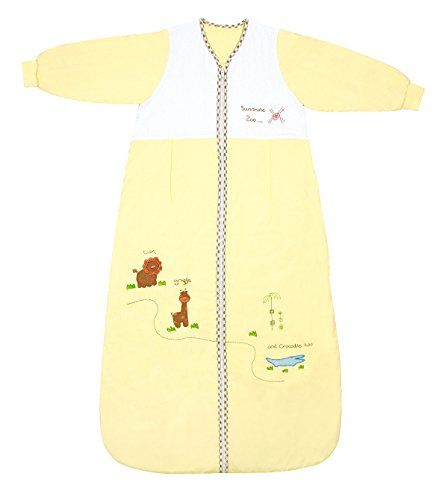 Schlummersack Winter Baby Sleeping Bag Long Sleeves 2.5 Tog - Zoo - 12-36 months/43inch - $39.99