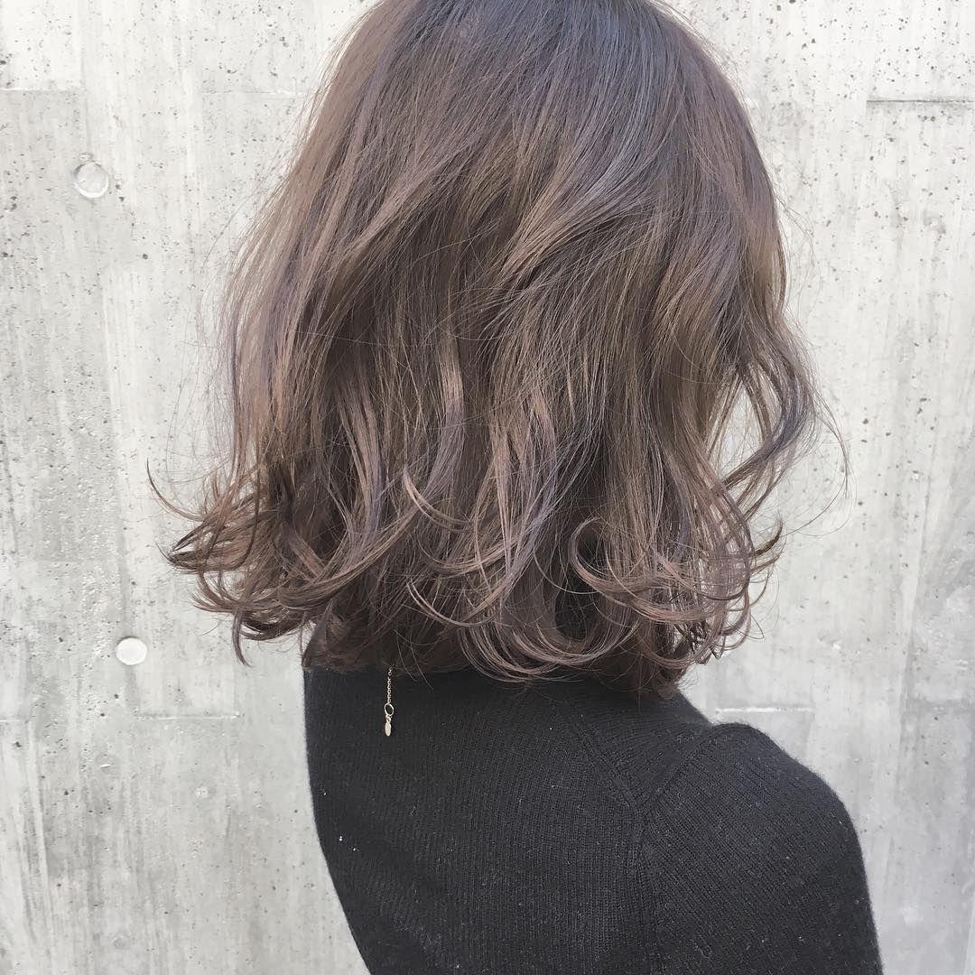Hair おしゃれまとめの人気アイデア Pinterest Megumi Nakao ヘアスタイル ロング 短い髪のためのヘアスタイル ヘアカラー 2018