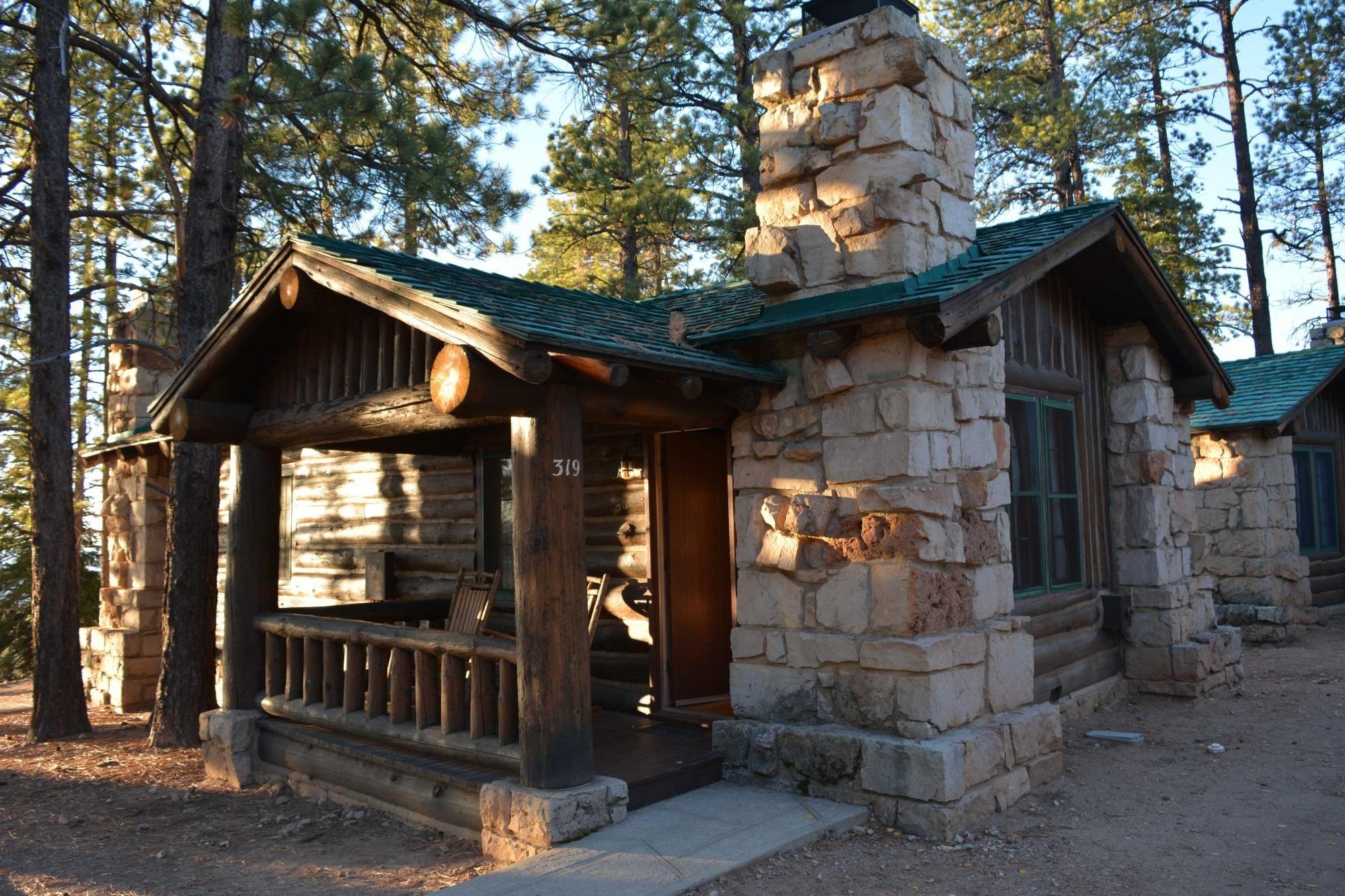 youtube in cabins lodge united canyon grand hotels watch states