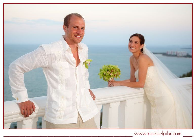 Destination wedding at Trellises.  El Conquistador Resort - Las Casitas Village Puerto Rico
