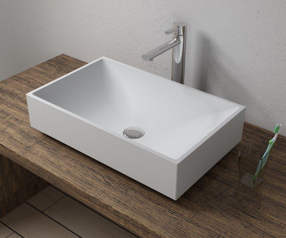Stone Rectangular Vessel Bathroom Sink Bathroom Design Sink Rectangular Vessel Sink