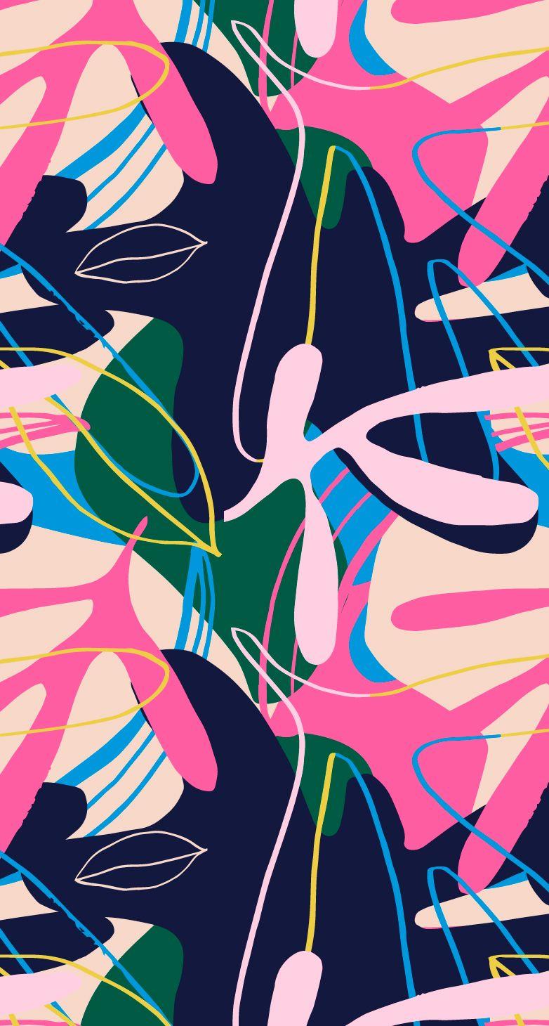 Jungle Taffy #surfacepatterndesign