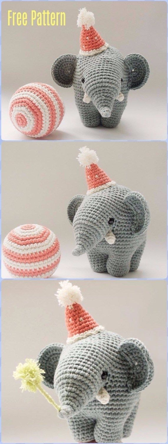 35+ Inspired Image of Free Crochet Elephant Pattern #crochetelephantpattern 35+ Inspired Image of Free Crochet Elephant Pattern Free Crochet Elephant Pattern Crochet Elephant Softie And More Free Patterns Tutorials  #EasyCrochetPattern #crochetelephantpattern