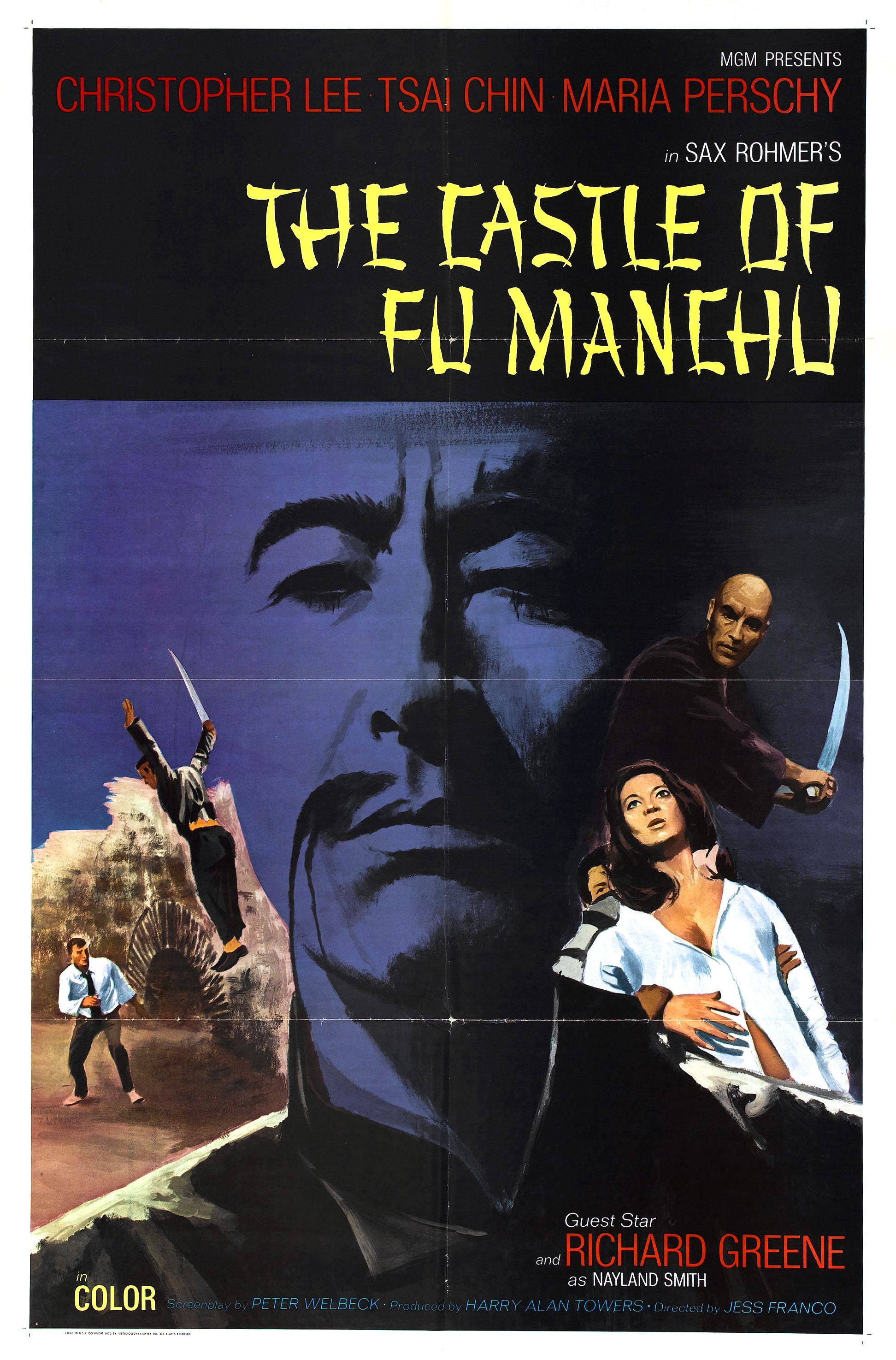 Download Sax Rohmer's The Castle of Fu Manchu Full-Movie Free
