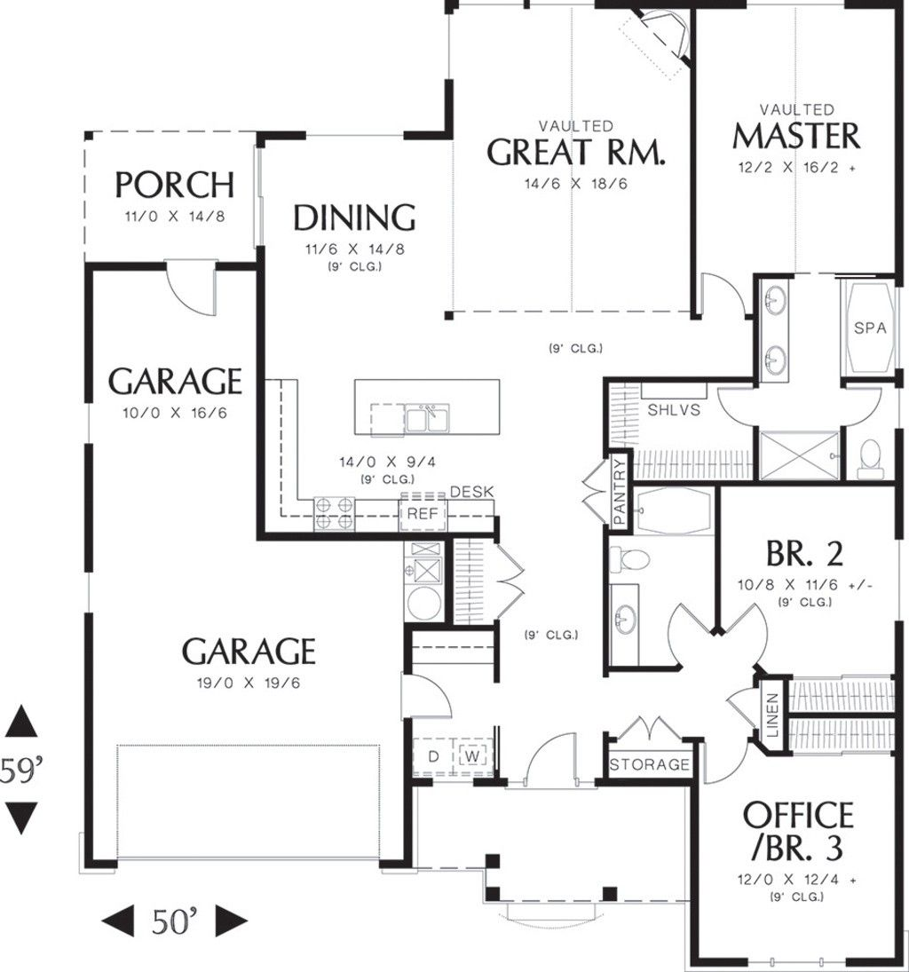 1800 Sq Ft House Plans One Story Unique 1800 Sq Ft House ...