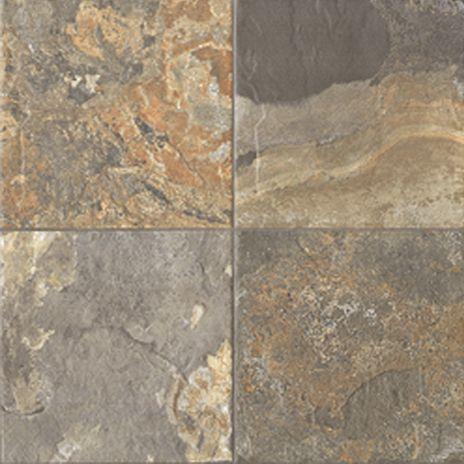 Slate Multi Ceramic Faux Slate The Fantastic Look With None Of - Fake slate floor tiles