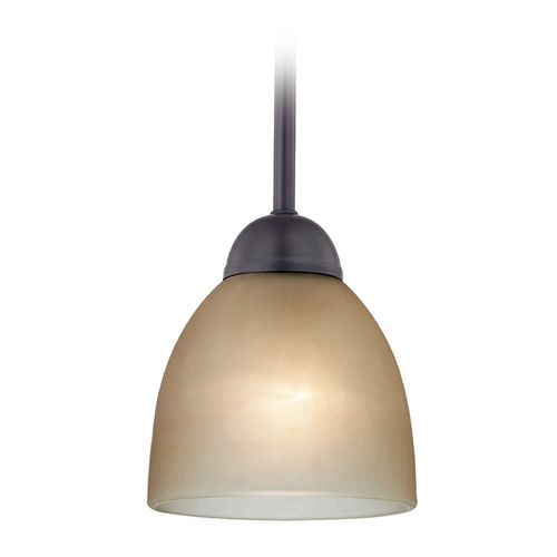 Cornerstone Lighting Cornerstone Lighting Kingston Oil Rubbed Bronze  Pendant Light With Bowl / Dome Shade |