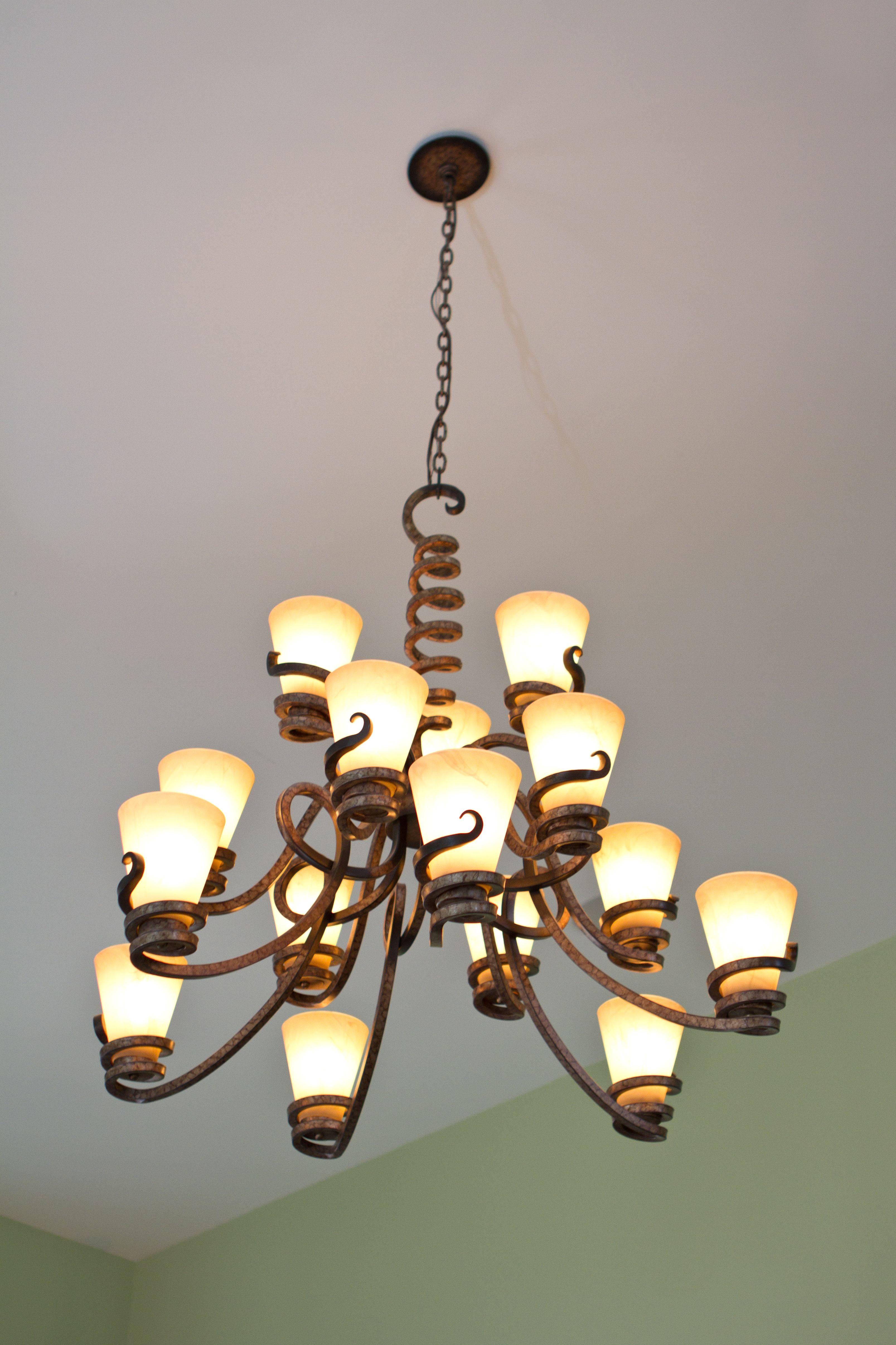 Tendril Lighting!   Tuscan style, Tasting room, Tuscan