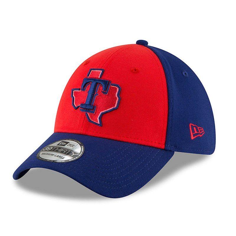 best authentic 244d2 6e2e5 Texas Rangers New Era 2018 Players  Weekend 39THIRTY Flex Hat – Red Navy