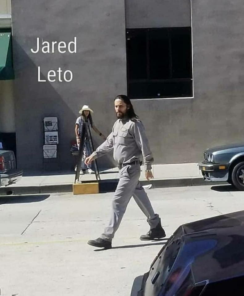 Jared on set of the movie ''Little Things'' Whittier ...