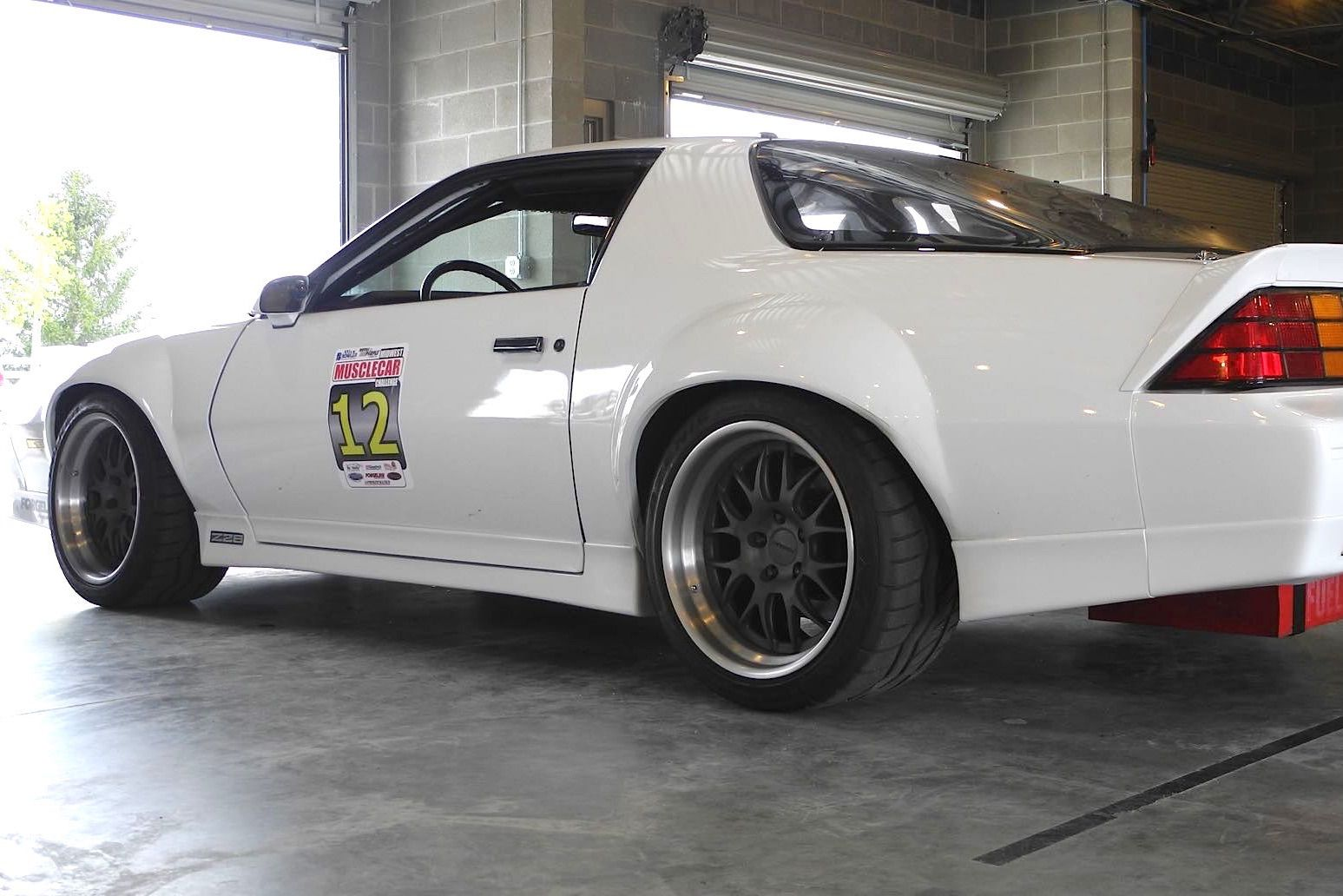 Bruce Raymond S 89 Camaro Z28 Is Equipped With A