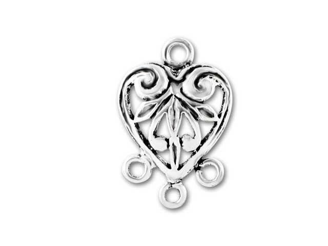 Heart Shaped Chandelier