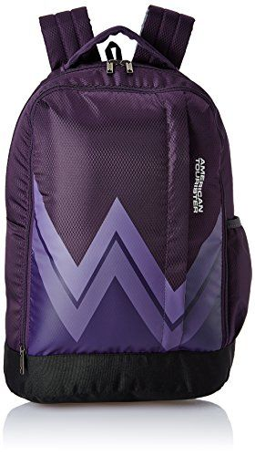 40305d178c1b Buy  9  American Tourister 28 Ltrs Purple Casual Backpack (AMT TWIST  BACKPACK 02 - PURPLE)