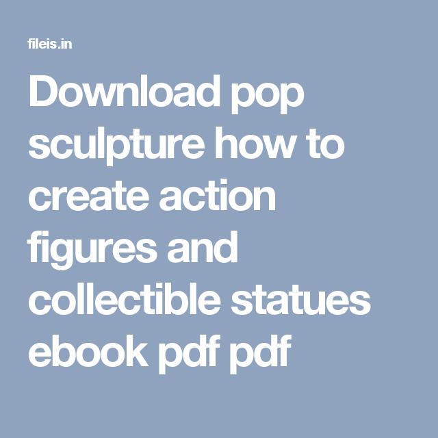 Pop Sculpture Ebook
