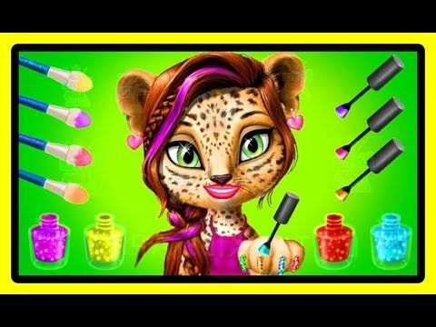 fun game animals care girls play makeover shopping haircut