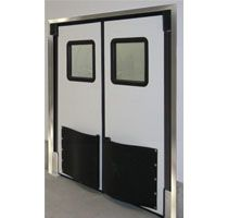 Durulite Retailer XHD Traffic Door (Double Acting Impact) Constructed With  Rotationally Molded Cross