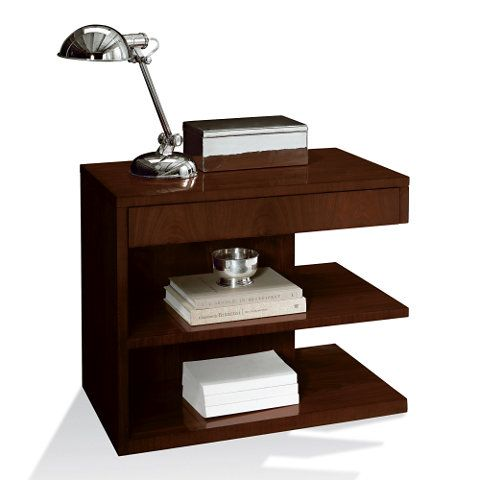 Modern Hollywood Night Stand - Occasional Tables - Furniture ...
