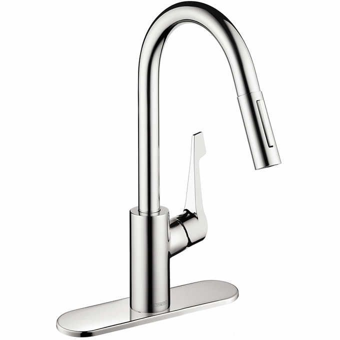 Costco 199 Hansgrohe Cento Kitchen Faucet In Steel Optik Chrome