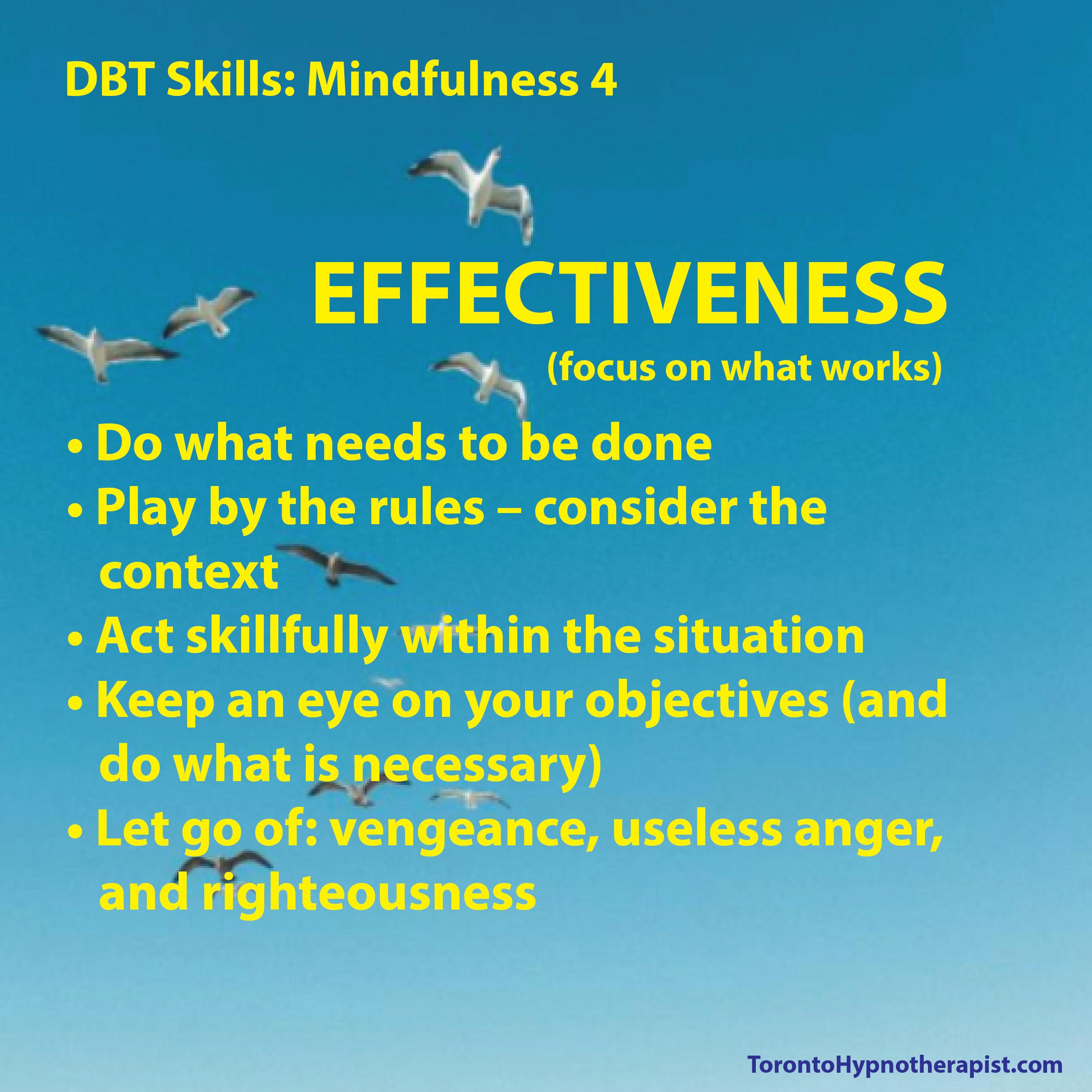 Effectiveness Dbt