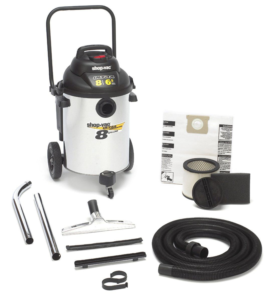 Shop-Vac 962-10 Ultra Contractor Series Wet/Dry Vac, Wet-Dry Vacuums