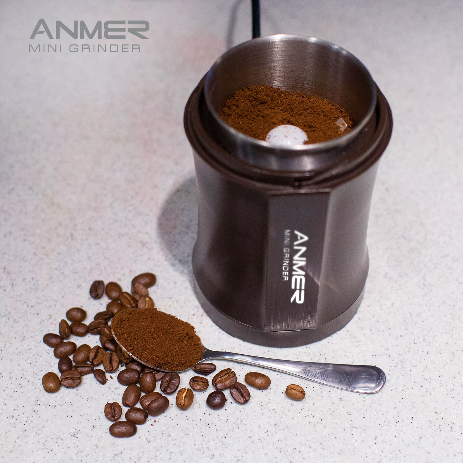 Long Plus CG8120 Electric Coffee Grinder for Coffee Bean