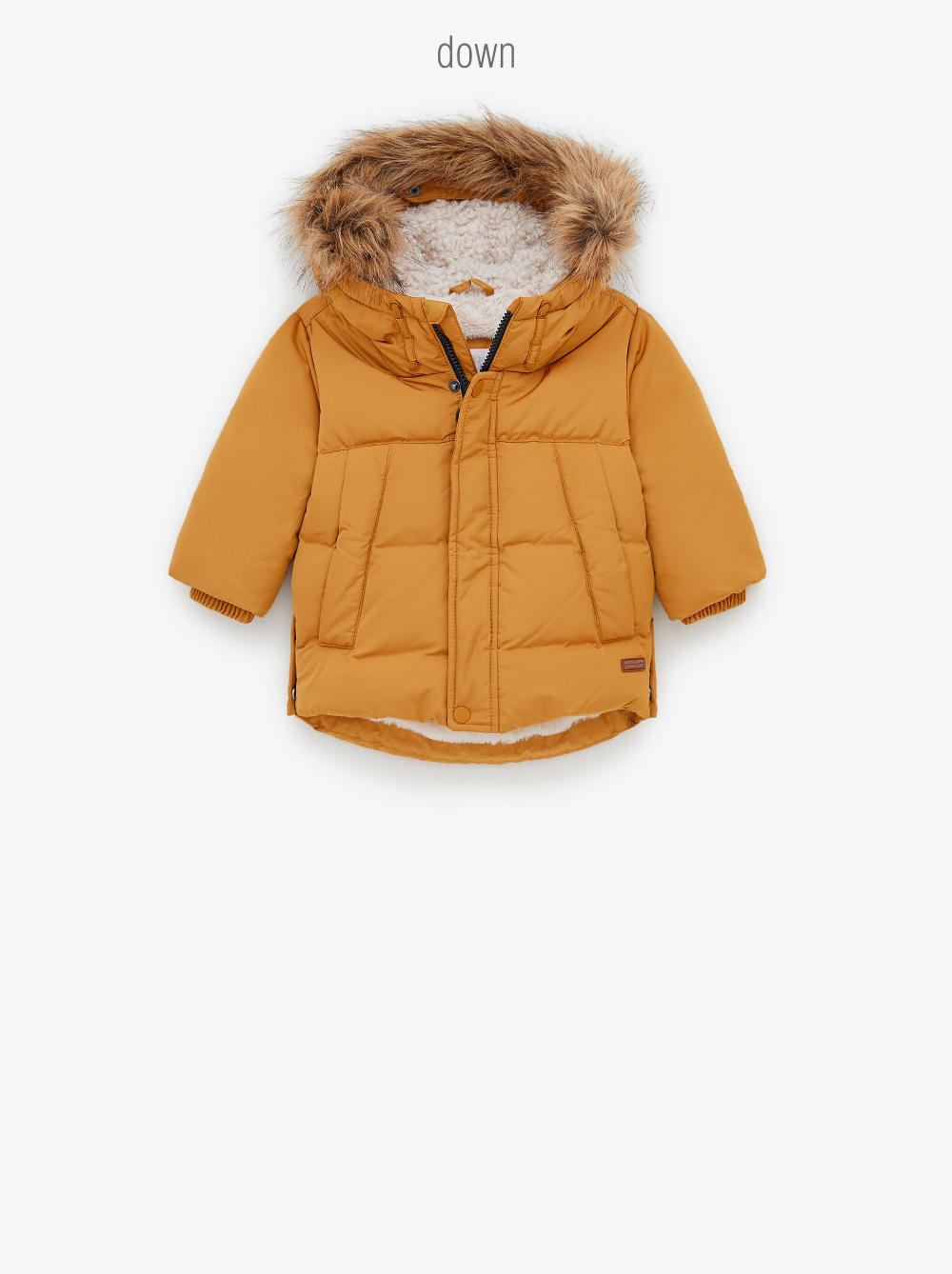 Baby Boys Fashion New Collection Online Zara United States Down Puffer Coat Puffer Coat Coat [ 1338 x 1000 Pixel ]