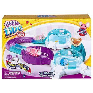 Little Live Pets Lil Mouse House Trail Target Australia Little Live Pets Pet Mice Pets
