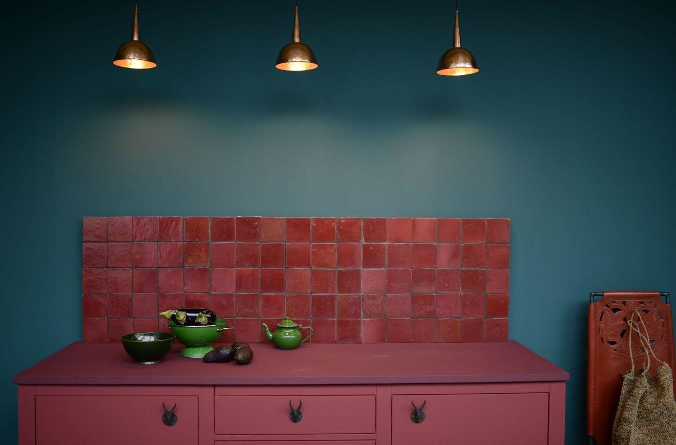 Carrelage Cuisine Sol Et Mur 20 Modeles Avec Images