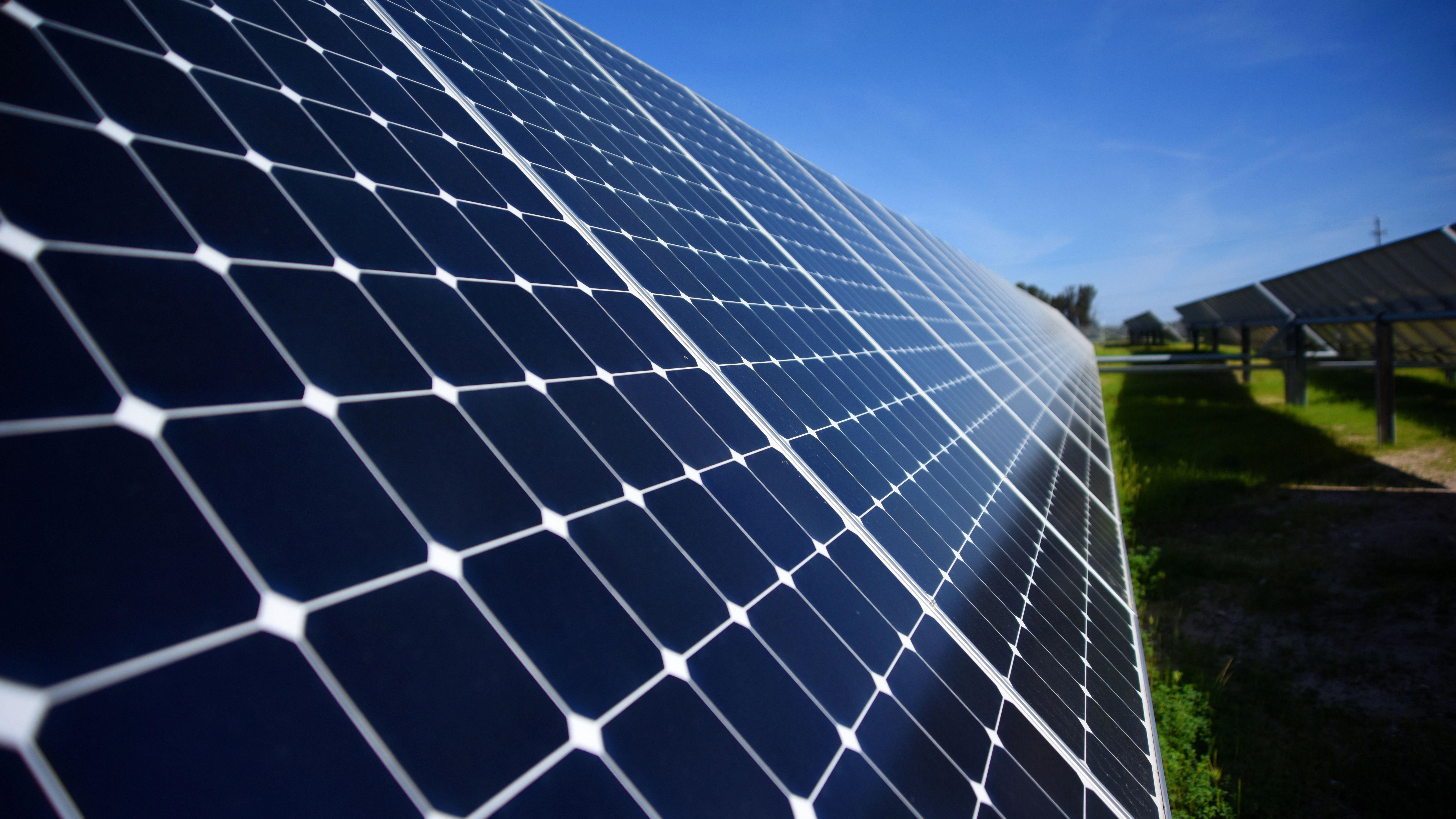 Solar Energy Background Green Energy Solar Solar Panels Solar