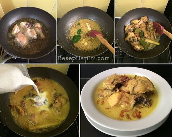 Resep Opor Ayam Khas Lebaran Dan Cara Membuat Opor Ayam Kuning Lengkap Olahan Masakan Opor Serta Resep Opor Ayam Jawa Bumbu Gurih D Resep Makanan Resep Masakan