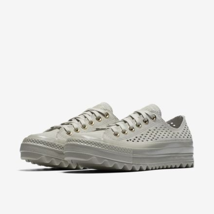 a4142bef162f Converse Chuck Taylor All Star Lift Ripple Perforated Suede Low Top Women s  Shoe