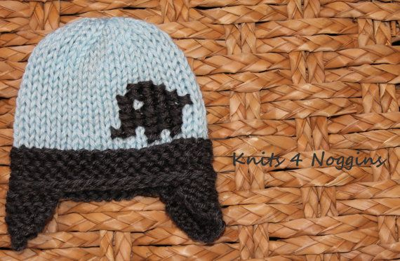 Knitted Baby Elephant hat baby girl or boy MORE by ...