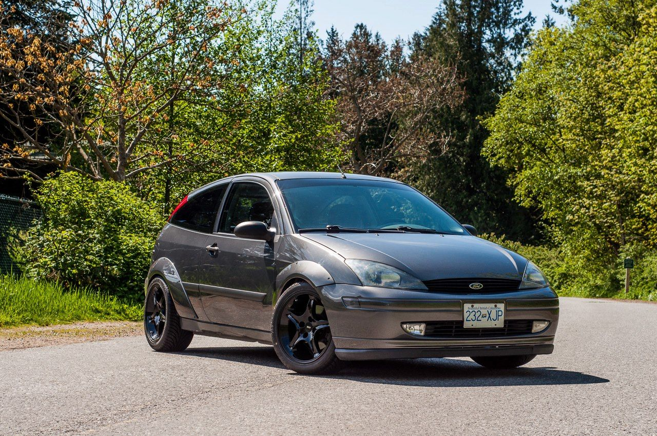 Liquid Grey Widebody With Cobra R S Ford Focus Ford Focus Svt